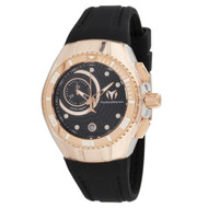 TechnoMarine Women's TM-115382 Cruise One Quartz Multifunction Black Dial Watch