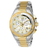Technomarine Men's TM-215041 Steel Manta Quartz White Dial Watch