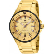 Technomarine Men's TM-215095 Manta Automatic Gold Dial Watch