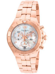 Technomarine Men's TM-715005 Sea Pearl Quartz White Dial Watch