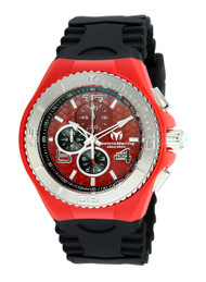 Technomarine Men's TM-115113 Cruise JellyFish Quartz Red Dial Watch