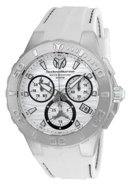 Technomarine Men's TM-115074 Cruise Medusa Quartz White Dial Watch