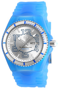 Technomarine Men's TM-115140 Cruise JellyFish Quartz Silver Dial Watch