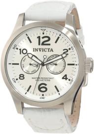 Invicta Men's 12170 Specialty Quartz 3 Hand Silver Dial Watch