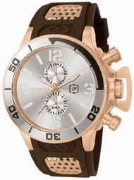 Invicta 80313 Corduba Rose Tone and Brown Silver Dial Mens Watch [Watch]