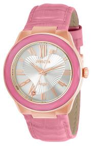Invicta Women's 22537 Angel Quartz 3 Hand Silver Dial Watch