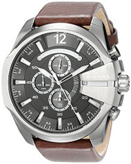 Diesel Men's DZ4290 Diesel Chief Series Analog Display Analog Quartz Brown Watch