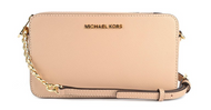 Michael Kors Medium East/West Crossbody Saffiano Leather (Oyster)  32T6GTVC6L-134