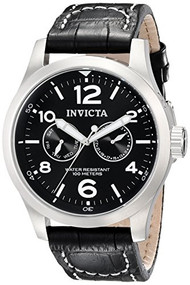 Invicta II Men's 0764 Stainless Steel Watch with Leather Band [Watch] Invicta