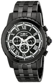 Invicta Men's 19469 Specialty Quartz Chronograph Black Dial Watch