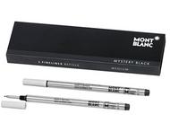 Mont Blanc Fineliner Refills Medium Mystery Black (2 Pack) 110149