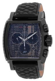 Invicta Men's 22382 Jason Taylor Quartz Chronograph Black, Dark Grey Dial Watch