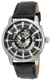 Invicta Men's 22641 Objet D Art Automatic 3 Hand Black Dial Watch