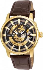 Invicta Men's 22642 Objet D Art Automatic 3 Hand Black Dial Watch