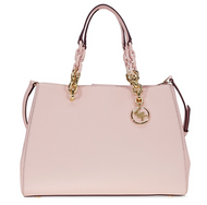 Michael Kors Cynthia Saffiano Leather Satchel - Soft Pink 30F7GCYS2L-187