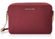 MICHAEL Michael Kors Women's Large Cross Body Clutch, Mulberry, One Size 32S4GTVC3L-666