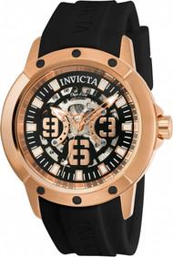 Invicta Men's 22631 Objet D Art Automatic 3 Hand Black Dial Watch