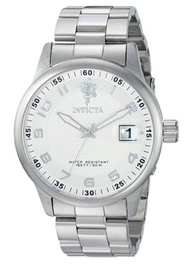 Invicta Men's 17914 Sea Base Quartz 3 Hand Silver Dial Watch