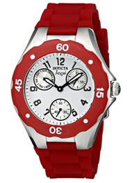 Invicta Women's 0701 Angel Quartz Multifunction White Dial Watch