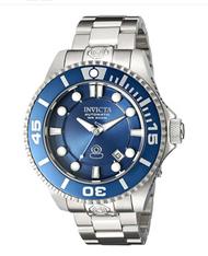 Invicta Men's 19799 Pro Diver Automatic 3 Hand Metallic Blue Dial Watch