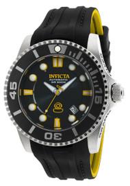 Invicta Men's 20199 Pro Diver Automatic 3 Hand Black Dial Watch