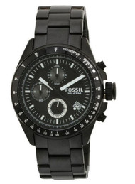 Fossil Men's CH2601 Decker Chronograph Stainless Steel Watch - Black