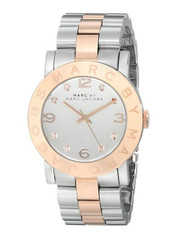 Marc Jacobs Women's MBM3194 Amy Two Tone Stainless Steel Watch