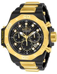 Invicta Men's 23100 Akula Quartz Chronograph Black Dial Watch