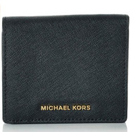 MICHAEL Michael Kors Women's Jet Set Carry All Card Case, Black, One Size  32T6GTVD2L-001