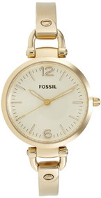 Fossil Women's Georgia ES3084 Gold Stainless-Steel Quartz Watch [Watch] Fossil