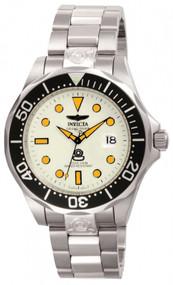 Invicta Men's 10640 Pro Diver Automatic 3 Hand White Dial Watch