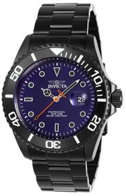 Invicta Men's 23008 Pro Diver Quartz 3 Hand Blue Dial Watch