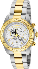 Invicta Men's 24483 Character  Quartz Multifunction White Dial Watch