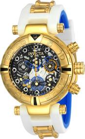 Invicta Women's 24512 Disney Quartz Multifunction Black, Gunmetal, Silver Dial Watch