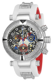 Invicta Women's 24515 Disney Quartz Multifunction Black, Gunmetal, Silver Dial Watch