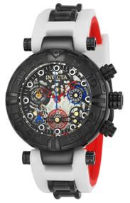 Invicta Women's 24516 Disney Quartz Multifunction Black, Gunmetal, Silver Dial Watch
