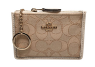 Coach Sign Mini Skinny-LI/LIGHT KHAKI/CHALK