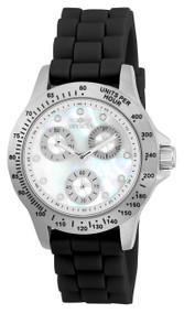 Invicta Women's 21968 Speedway Quartz Chronograph White Dial Watch
