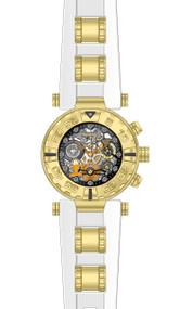 Invicta Women's 24882 Character Quartz 3 Hand Black, Gunmetal, Silver Dial Watch