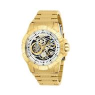 Invicta Men's 25418 Pro Diver Automatic 3 Hand Blue, Gold Dial Watch