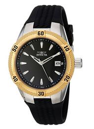 Invicta Women's 24598 Angel Quartz 3 Hand Black Dial Watch