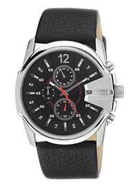 Diesel Herren-Armbanduhr XL Master Chief Chronograph Quarz Leder DZ4182
