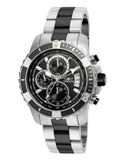 Invicta Men's 'Pro Diver' Quartz Stainless Steel Casual Watch, Color:Two Tone (Model: 22416) …