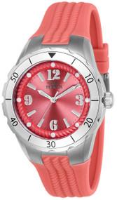 Invicta Women's 24122 Angel Quartz 3 Hand Rose Dial Watch
