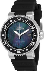 Invicta Women's 22671 Pro Diver Quartz 3 Hand Black Dial Watch