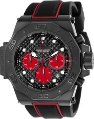 Invicta Men's 23107 Akula Quartz Chronograph Black, Red Dial Watch