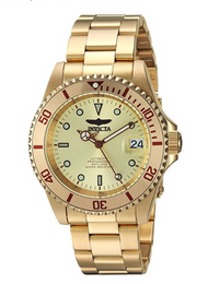 Invicta Men's 'Connection' Automatic and Stainless Steel Casual Watch, Color:Gold-Toned (Model: 24762)