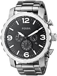 Fossil Mens Quartz Stainless Steel watch #JR1353 [Watch] Fossil