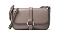 Michael Kors Quincy Grey Leather Crossbody Bag Cinder 32F6AQYC3L-513