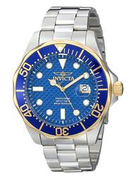 Invicta Men's 12566 Pro Diver Analog Display Swiss Quartz Silver Watch …